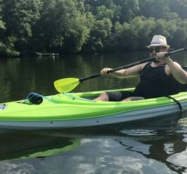 Kayak for rent in Stone Mountain