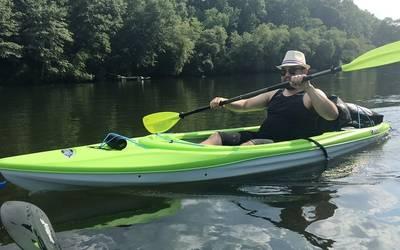 Kayak rental in Stone Mountain