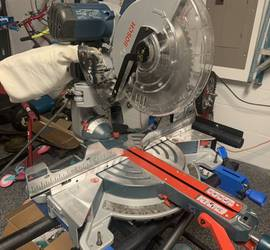 Bosch Miter Saw and Stand