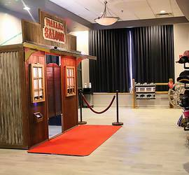 Vintage Rustic Western Saloon Photo Booth Rental