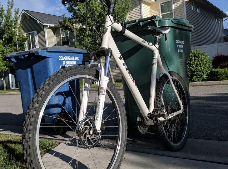 Trek 4500 series 24-in frame mountain bike
