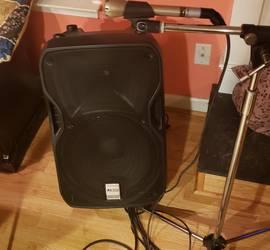 Bluetooth PA Karaoke Speaker System