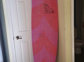 Soft top Roxy surfboard