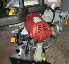 Miter saw. Table saw