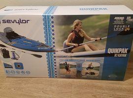 Kayak - Inflatable Sevylor QUIKPAK Kayak
