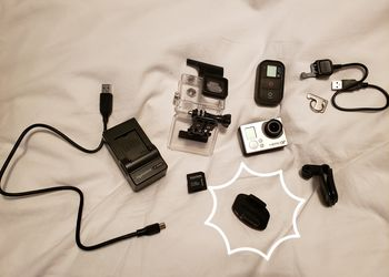 GoPro Hero3+ Black Edition $25 daily rate (free adhesive pad with $100 weekly rate)