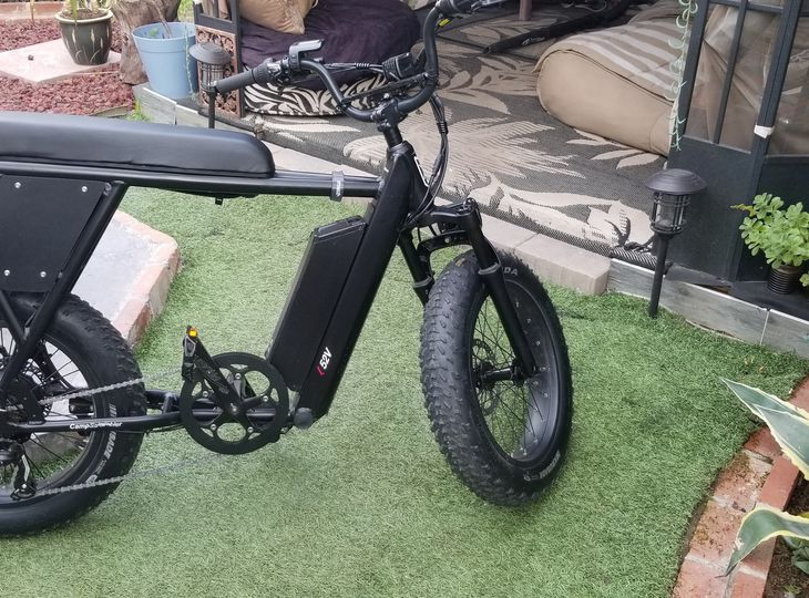 City Scrambler E-bike