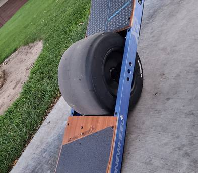 OneWheel XR with protection gear
