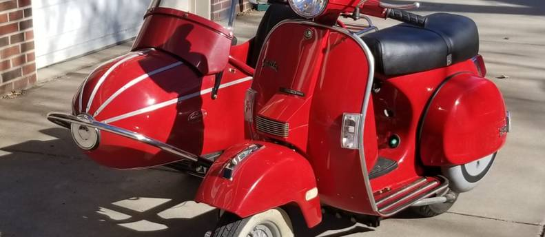 """Want to ride in a """"vintage"""" sidecar"""