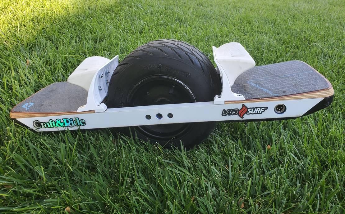 OneWheel XR with upgrades