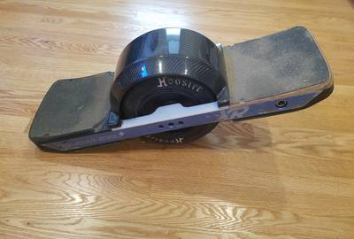 OneWheel+ XR w/ JWXR Battery, Kush Hi rear foot pad, fender and float plates