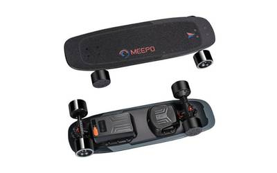 Meepo electric skateboard rental in Omaha