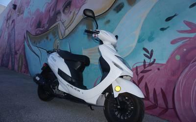 2021 Italica Strada Scooter