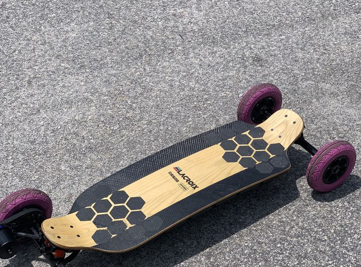 Electric Longboard Lacroix Prototipo 50+