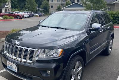 Jeep Grand Cherokee Rental - 2013