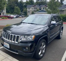 Jeep Grand Cherokee Rental - 2013