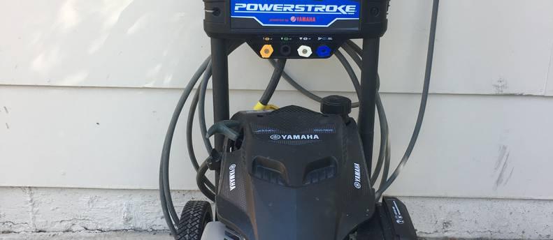 Yamaha Powerstroke 3100psi pressure washer