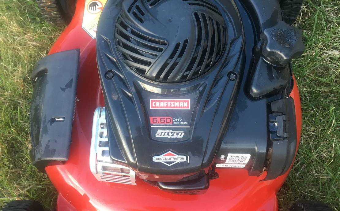 Craftsman 5.5hp push lawn mower