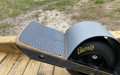 Onewheel XR GROWLER with Burris SS-11 , Kush Lo Rear Footpad, & Bang Bumpers