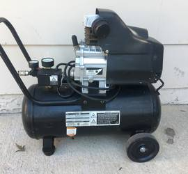 Central Pneumatic portable air compressor