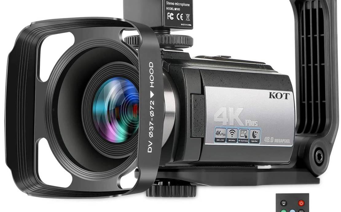 Video Camera Camcorder 4K 60FPS Ultra HD Digital WiFi Camera
