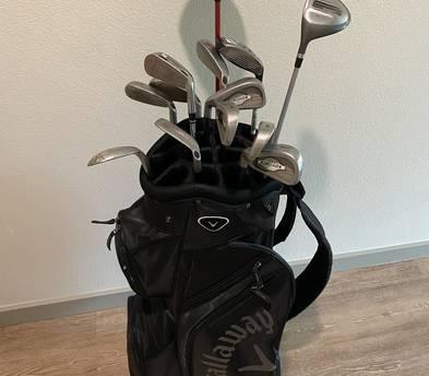 Golf LEFTY POWER Hybrid Club Set & Stand Bag(for lefty)