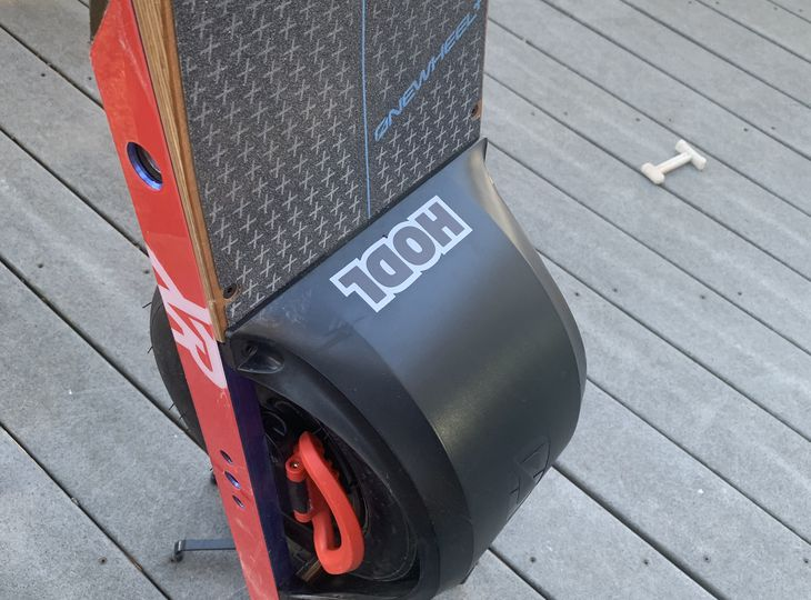 OneWheel XR with Fender 43 Miles!