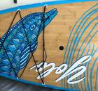 """YOLO 10'6"""" Stand Up Paddle Board SUP With Adjustable Carbon Fiber Paddle and Accessories"""