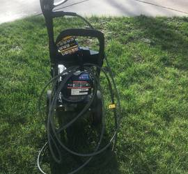 Yamaha Powerstroke 3100psi pressure washer