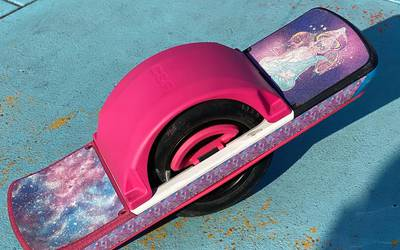 Onewheel Pint - PINK and VERY modified, with upgraded tire perfect for pavement + trails! 600+ miles