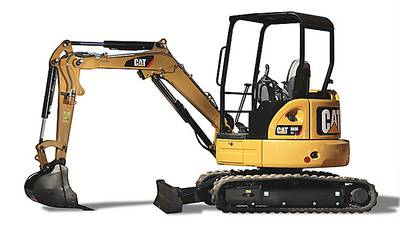 Earthmoving equipment rental in Cleveland