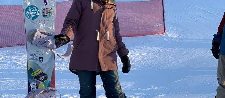 Women's ROME snowboard