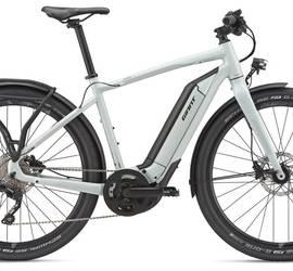 E-Bike - Giant Quick E+ - Large Frame W/bags