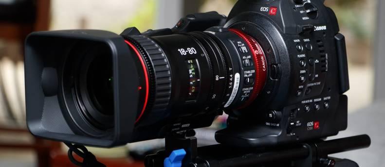 Canon 18-80 Compact Servo lens