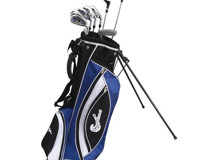 Confidence Golf LEFTY POWER Hybrid Club Set & Stand Bag(for lefty)