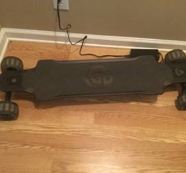 Ownboard Carbon Electric Skateboard At Cloud Wheels