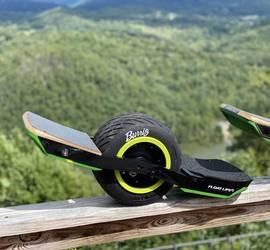 WTF Rails Onewheel XR + with Kush rear pad option