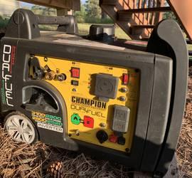 Champion Quiet 3100 Watt Inverter Generator Dual Fuel Camper Generator