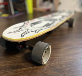 Backfire Electric Skateboard Custom