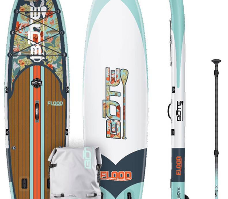 "Inflatable BOTE Paddleboard (SUP:  Length = 10' 6"" )"
