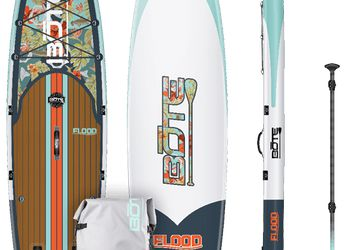 "Inflatable BOTE Paddleboard (SUP:  Length = 10' 6"" )"