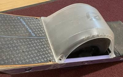 Onewheel+ XR w/Cobra pad + Silver handle + Hypercharger
