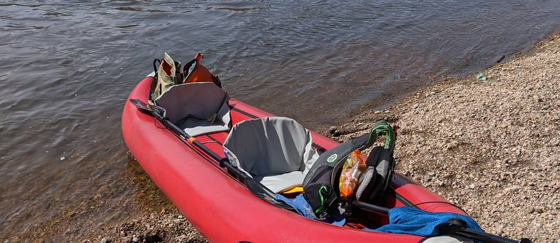 Inflatable Kayak: Tomcat Tandem