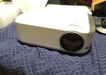 Projector 4500-Lux 1080P-HD 50,000Hr lamp life