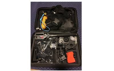 GoPro -like action camera w/ cases and accessories
