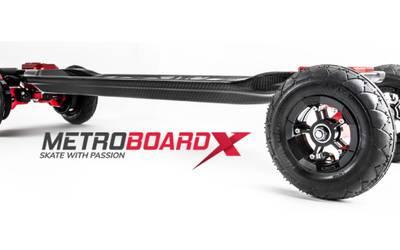 MetroboardX – All Terrain Electric Skateboard