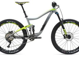 Mountain Bike Full Suspension Small through extra large