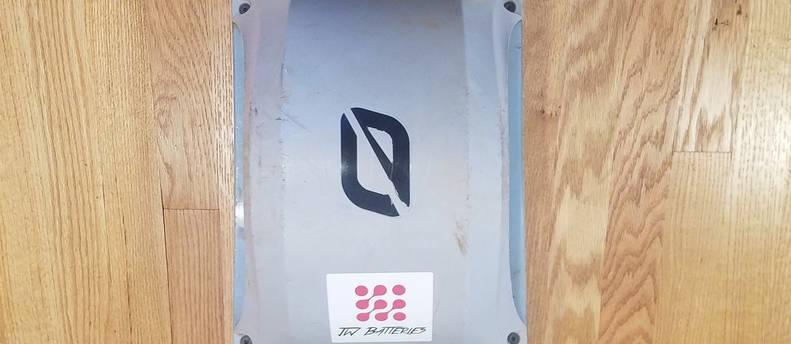 OneWheel+ XR w/ Kush Hi rear foot pad, fender and float plates, Hoosier Whisper tire