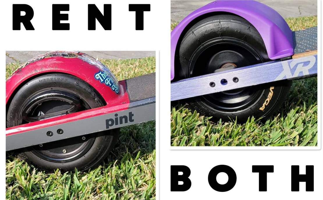 Try'Em Both!!!  Onewheel+ XR and Onewheel Pint