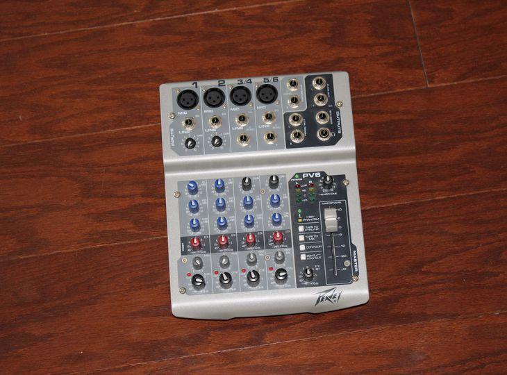 Peavey PV6 Mixer